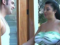 Jaylene Rio Gives A Blowjob A Titjob And Enjoys Terrific Sex
